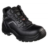 Skecher Safety Shoes 77144 Blk - Composite Toe