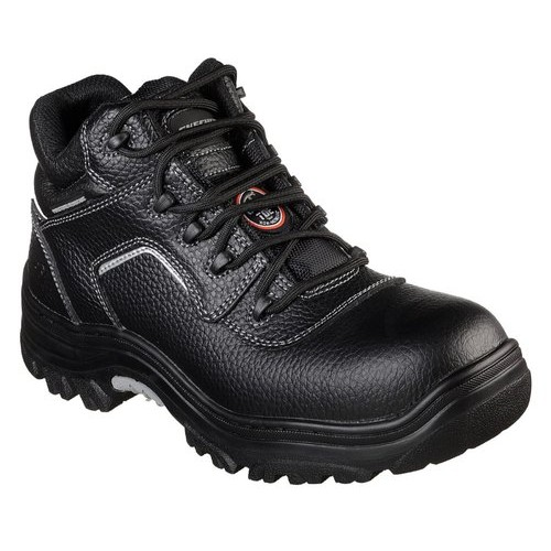 Skecher Safety Shoes 77144 Blk - Composite Toe