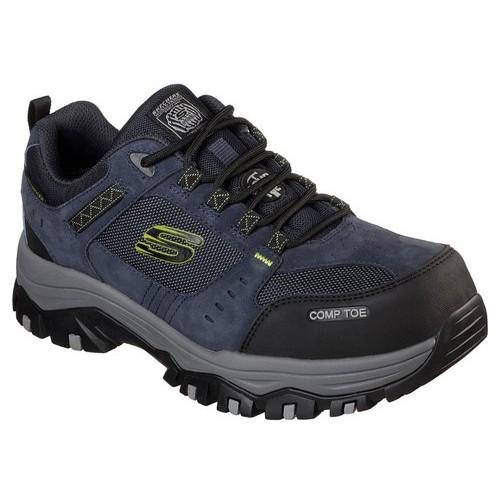Skechers 77183 NVBK Greetah Composite Toe