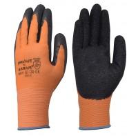 Orange Liner with Black Crinkle Latex