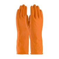 PENTAGON - INDUSTRIAL LATEX GLOVES - ORANGE